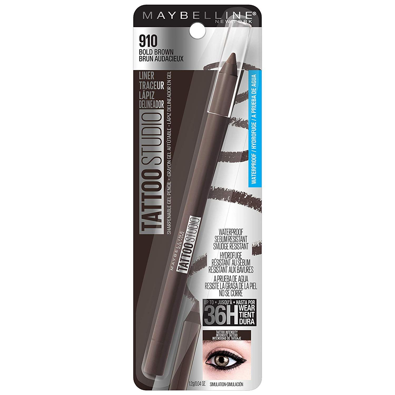 Maybelline tattoo studio eye liner bold brown maybelline
