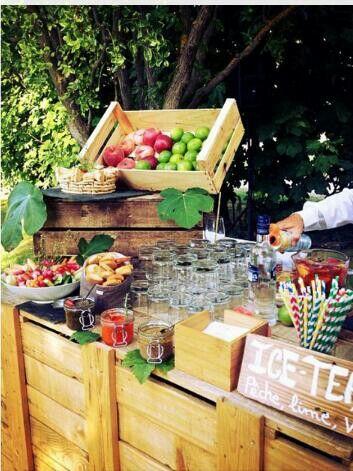 Iced tea - wedding