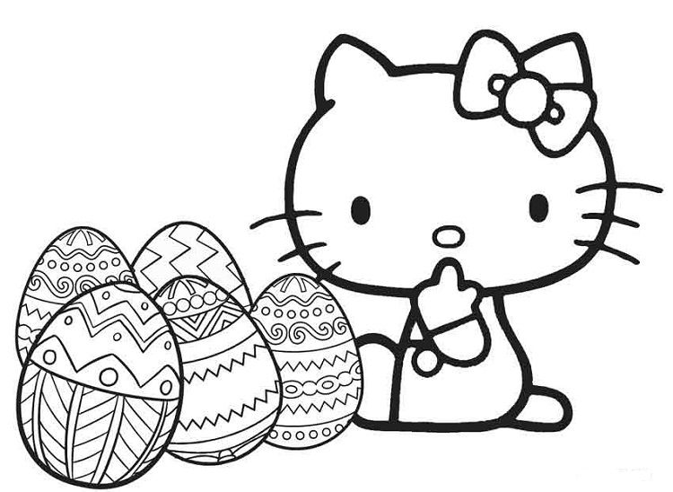 Hello Kitty Easter Coloring Pages Hello Kitty Coloring Unicorn Coloring Pages Hello Kitty Colouring Pages