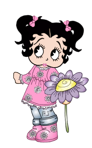 BB With Flowers | Girls Lovely II | Betty boop doll, Betty