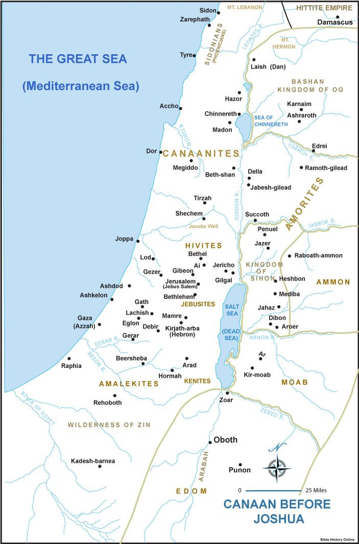 ancient canaan map - Google Search Ancient Canaan-Gath Pinterest