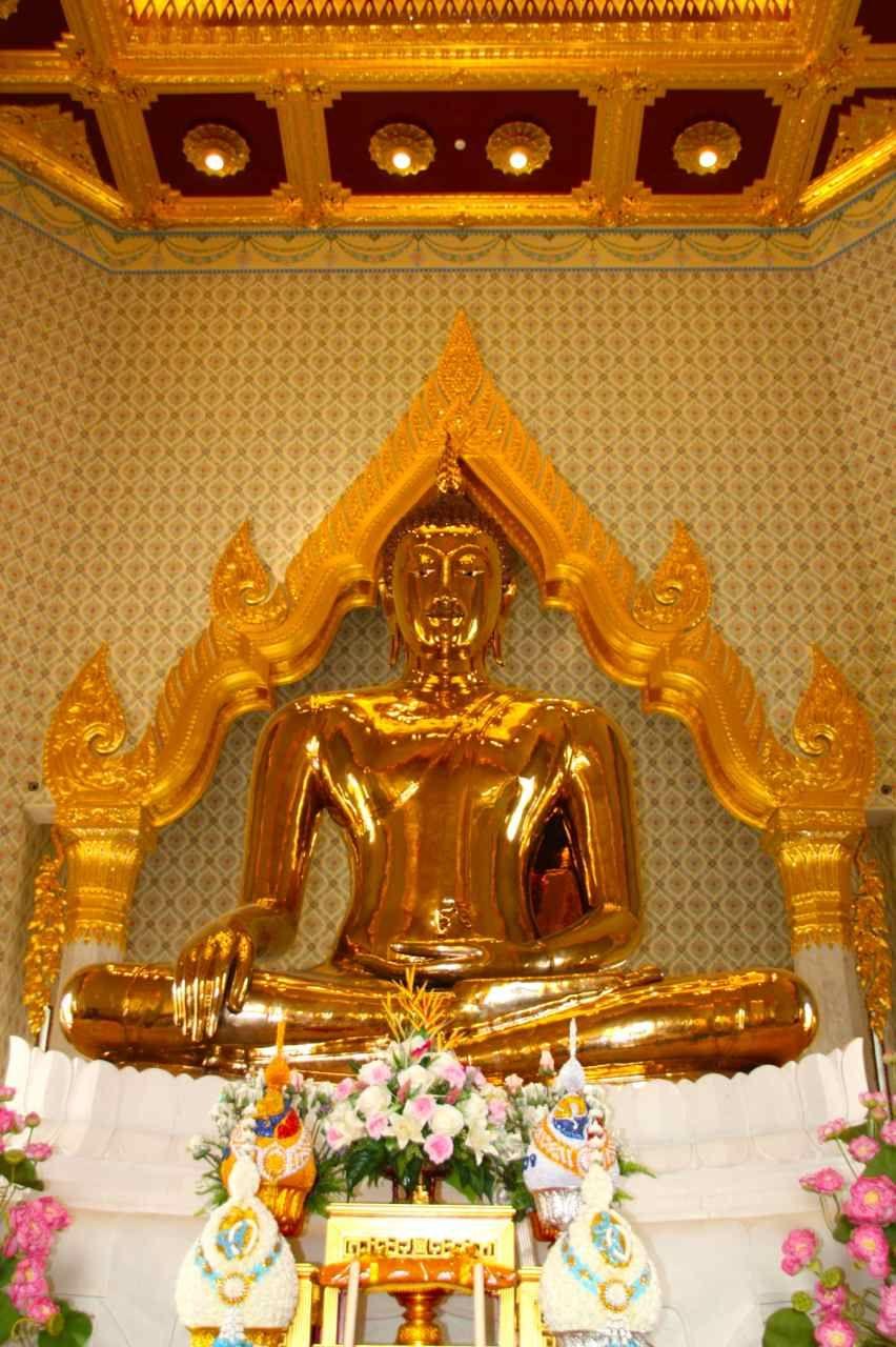 Buda de Oro o Wat Traimit - Bangkok - Tailandia.