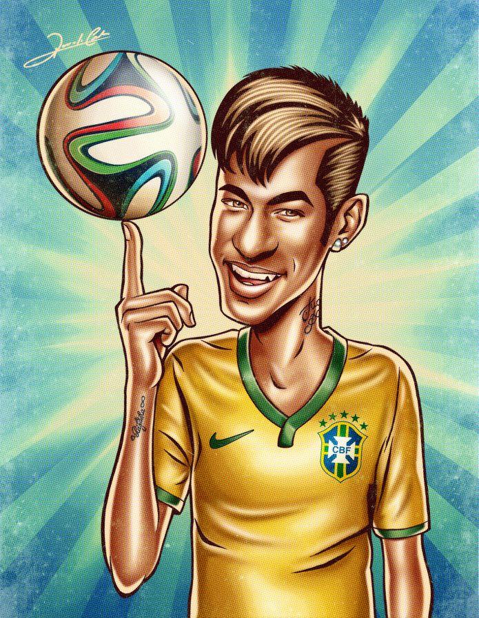 Neymar Jr Neymar Jr Copa Do Mundo E Neymar Desenho