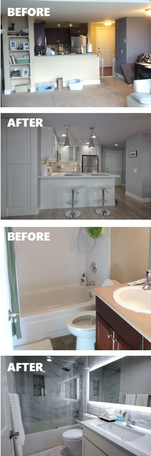 Our Small Condo Remodel Reveal #kitchenremodelsmall