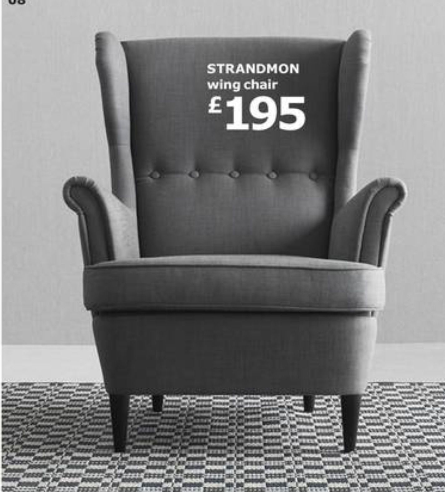 Grey armchair from ikea new house inspire Pinterest