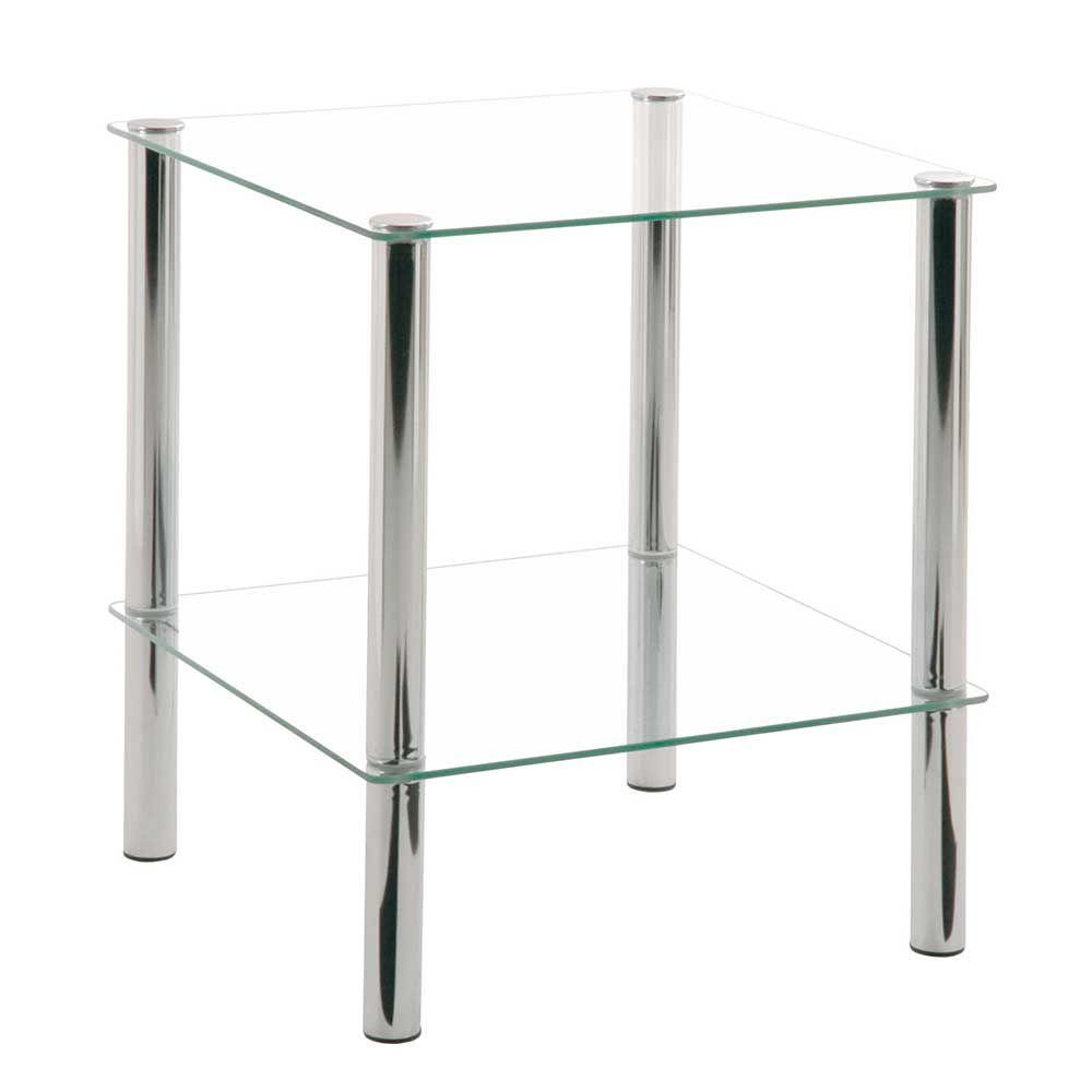 Beautiful Glastisch mit Ablage Stahl Jetzt bestellen unter https moebel ladendirekt