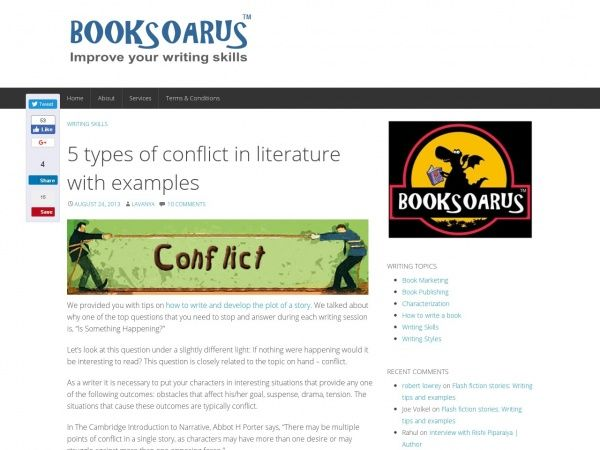 Conflict In Literature Examples