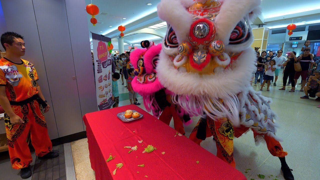 Lion Dance Chinese New Year Southlands Boulevarde TS