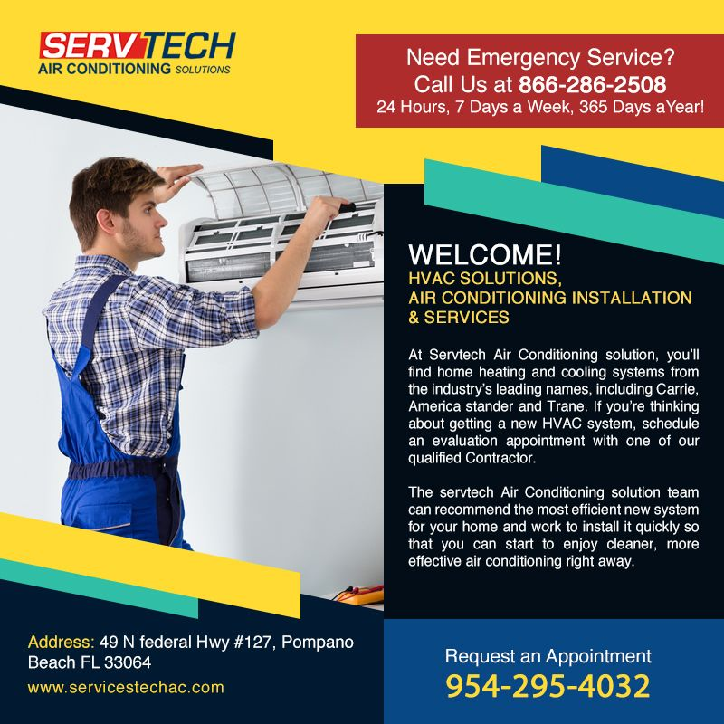 Servtech Air Conditioning Solutions For Your Hvac Repair There S