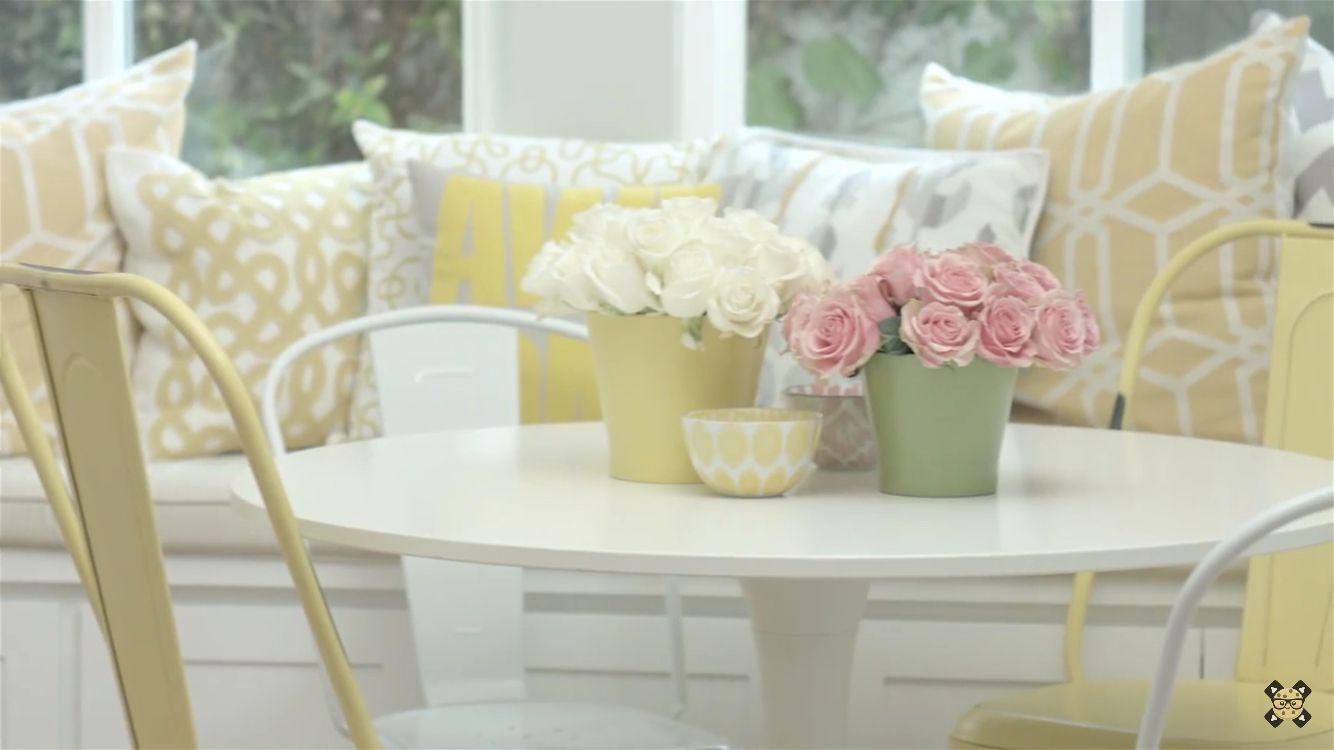 Rosanna Pansino S Kitchen Breakfast Table Home Decor Breakfast Table New Furniture