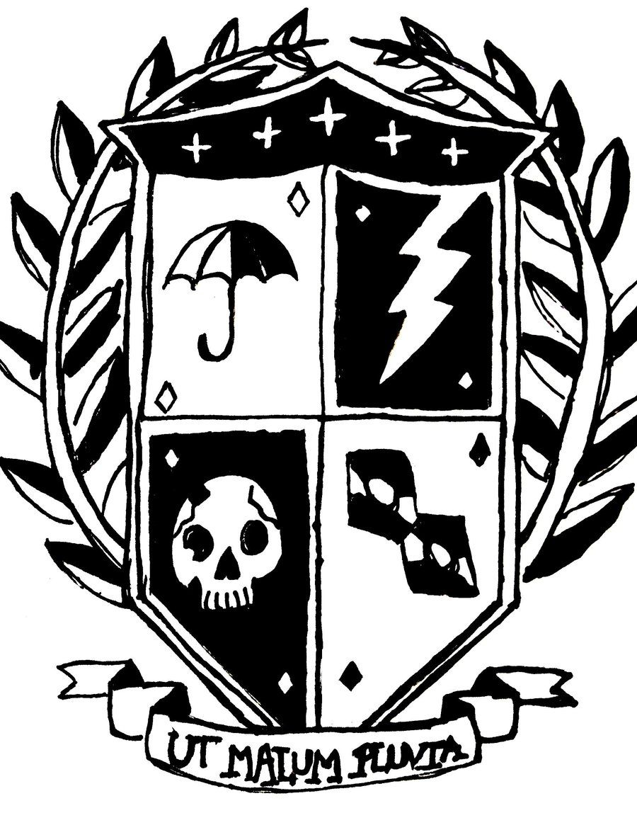 Umbrella academy crest geek stuff pinterest comic books and umbrella academy crest buycottarizona Images