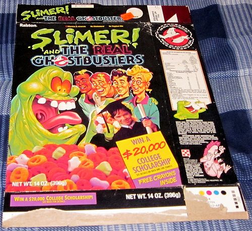 1980's Ralston Slimer Cereal Box (With Images)