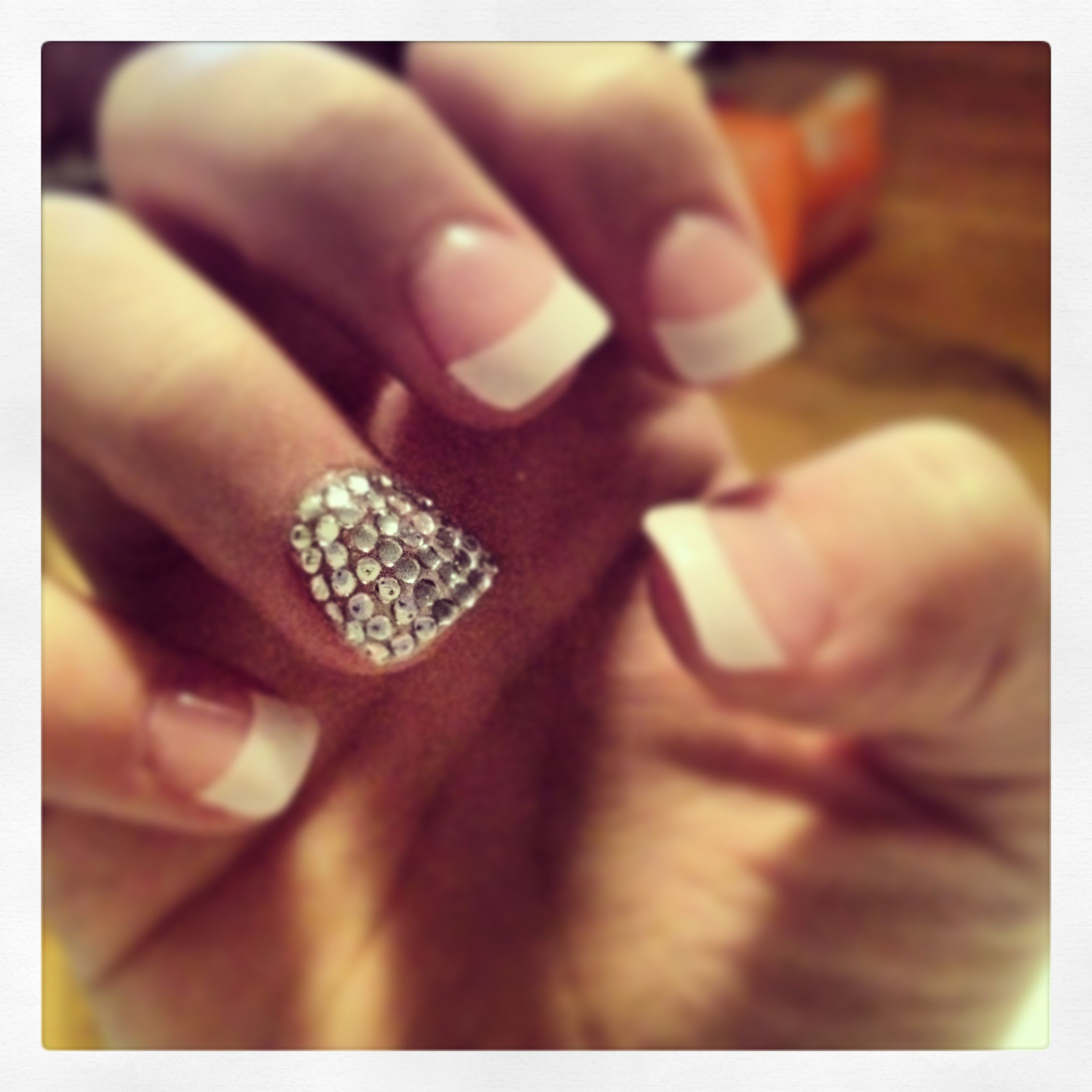 Diamond nails | Beauty | Pinterest
