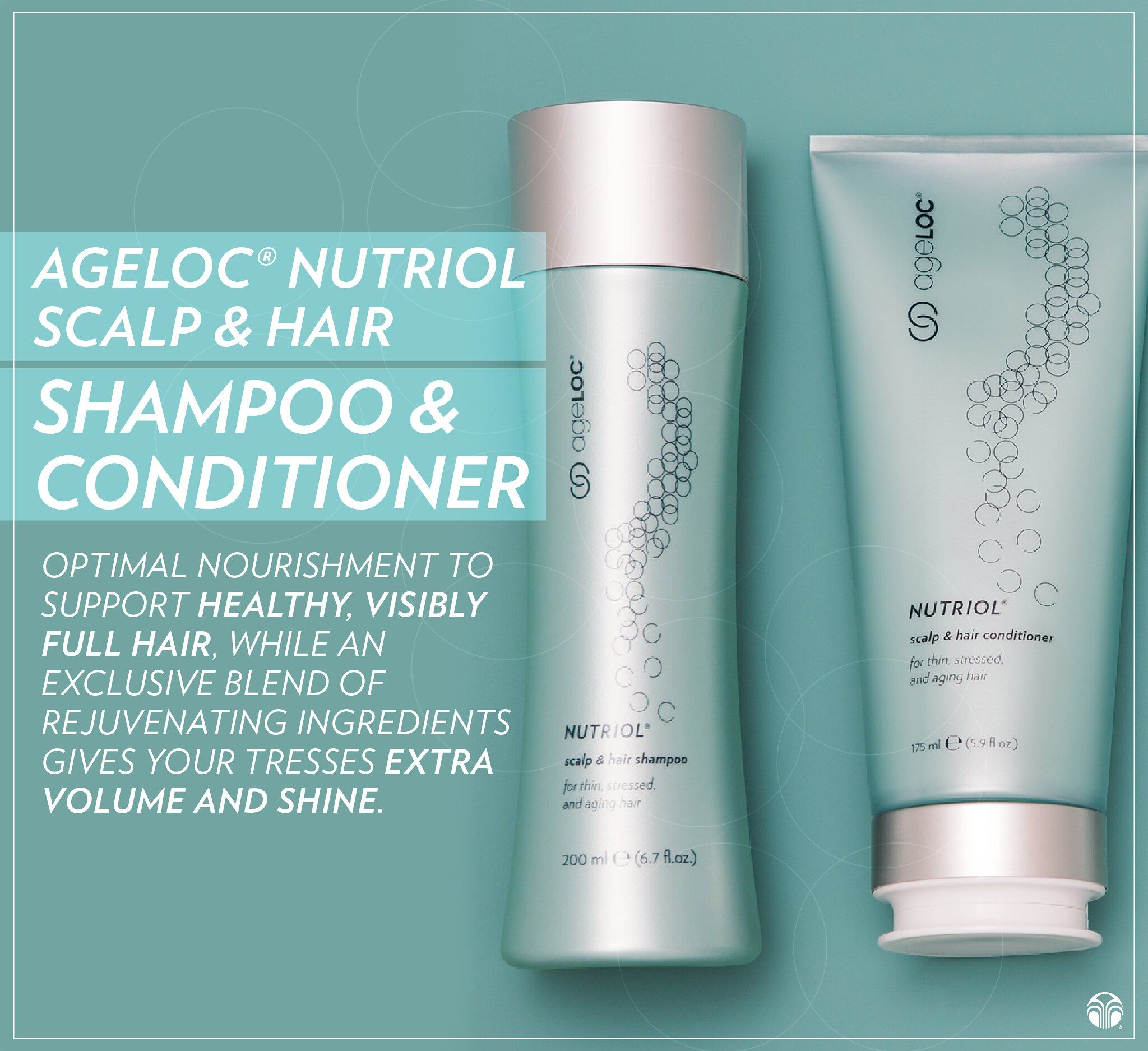 Combining ageLOC Scalp & Hair Shampoo with ageLOC Scalp