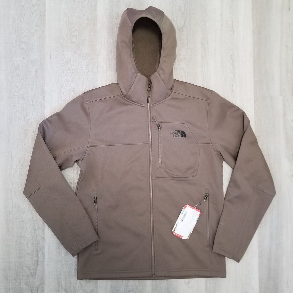 The North Face Men S Apex Risor Jacket Falcon Brown Hoodie Size Medium New Fashion Clothing Shoes Accessories Mensclo Brown Hoodie North Face Mens Jackets [ 1000 x 1000 Pixel ]