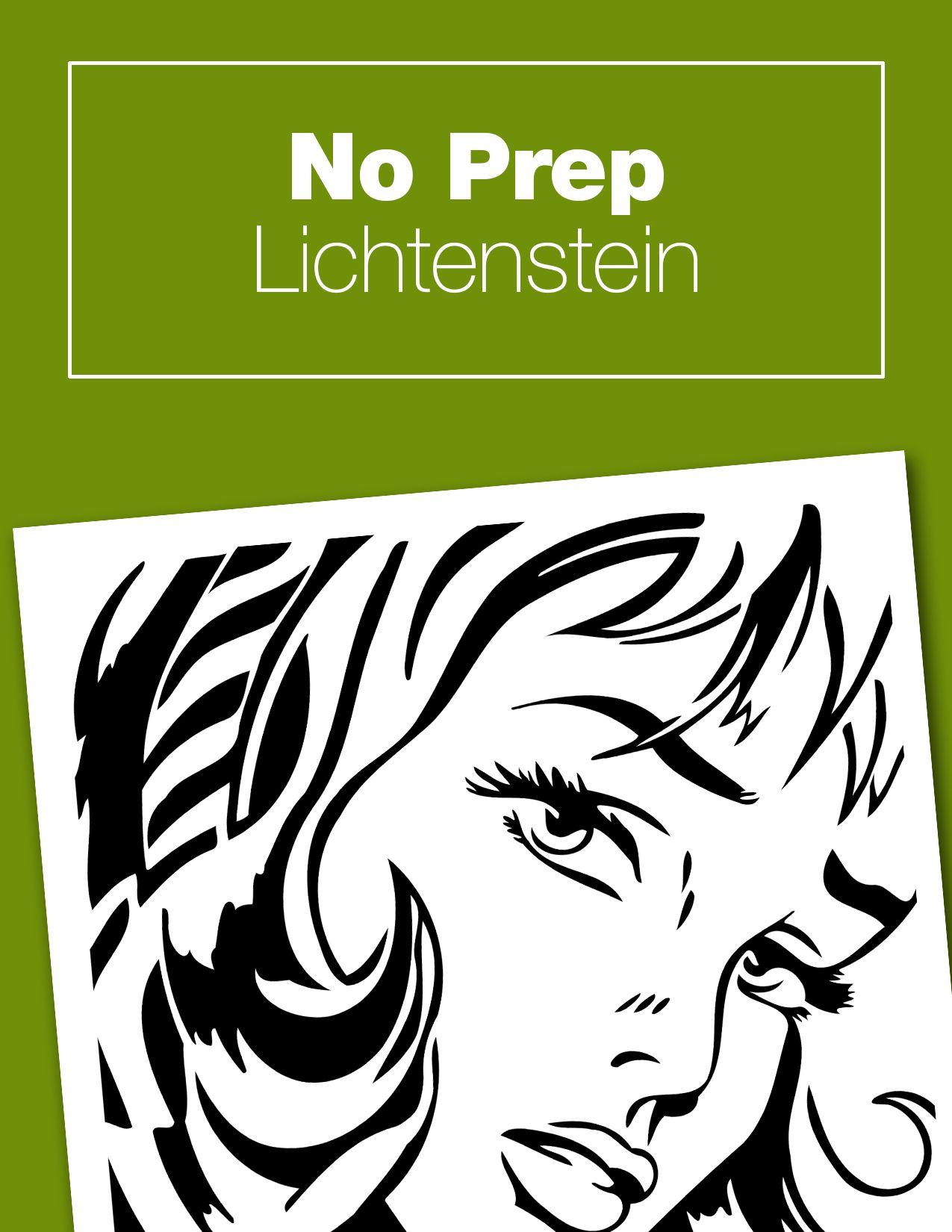 No Prep Lichtenstein Project