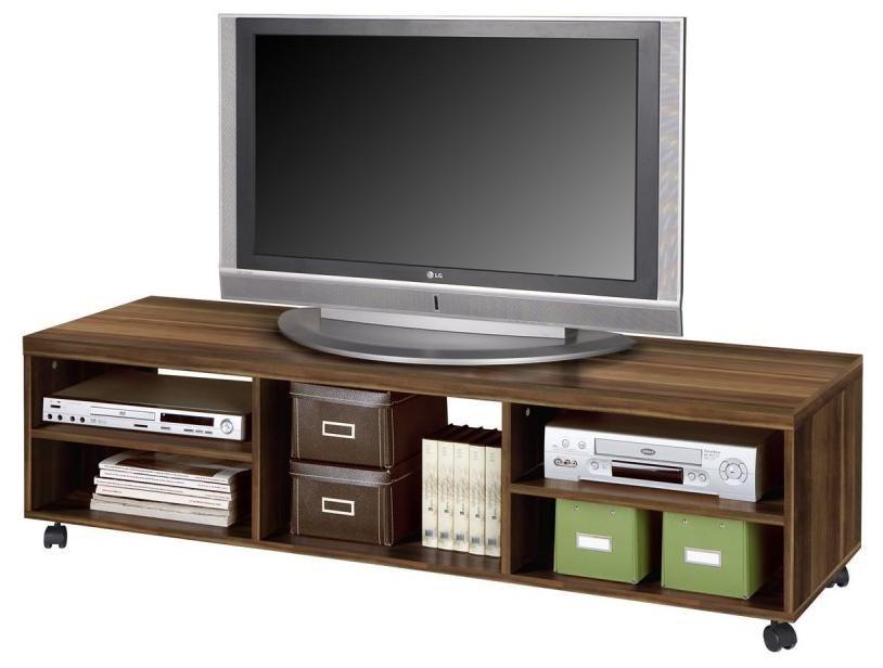 Porta tv basso a carrello attrezzato pruno art cpstv1551b30304 base carrello porta tv largo con - Carrello porta tv meliconi ...