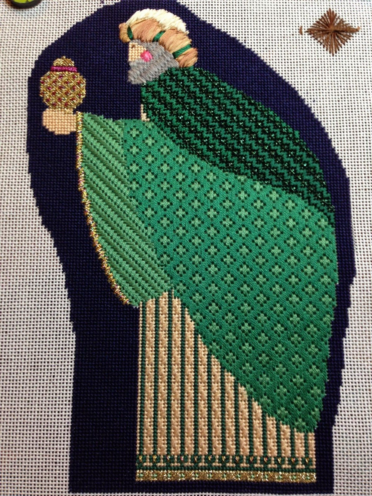 Steph S Stitching Green Magi From Heartstrings Designs