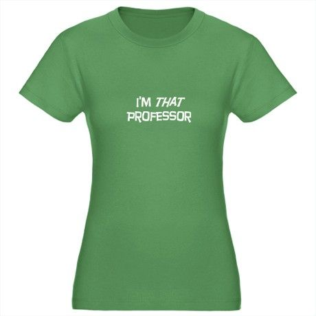 Im that professor Womens Fitted T-Shirt (dark)