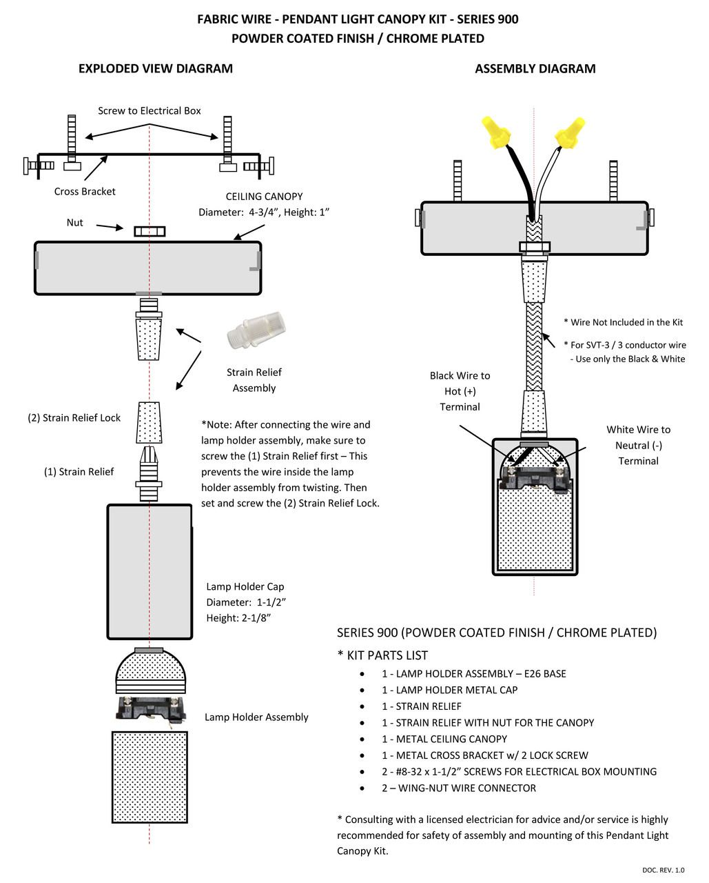 wiring diagram for canopy lights wiring library light relay wiring diagram gray pendant light canopy kit with 6 ft cloth by fabricwire