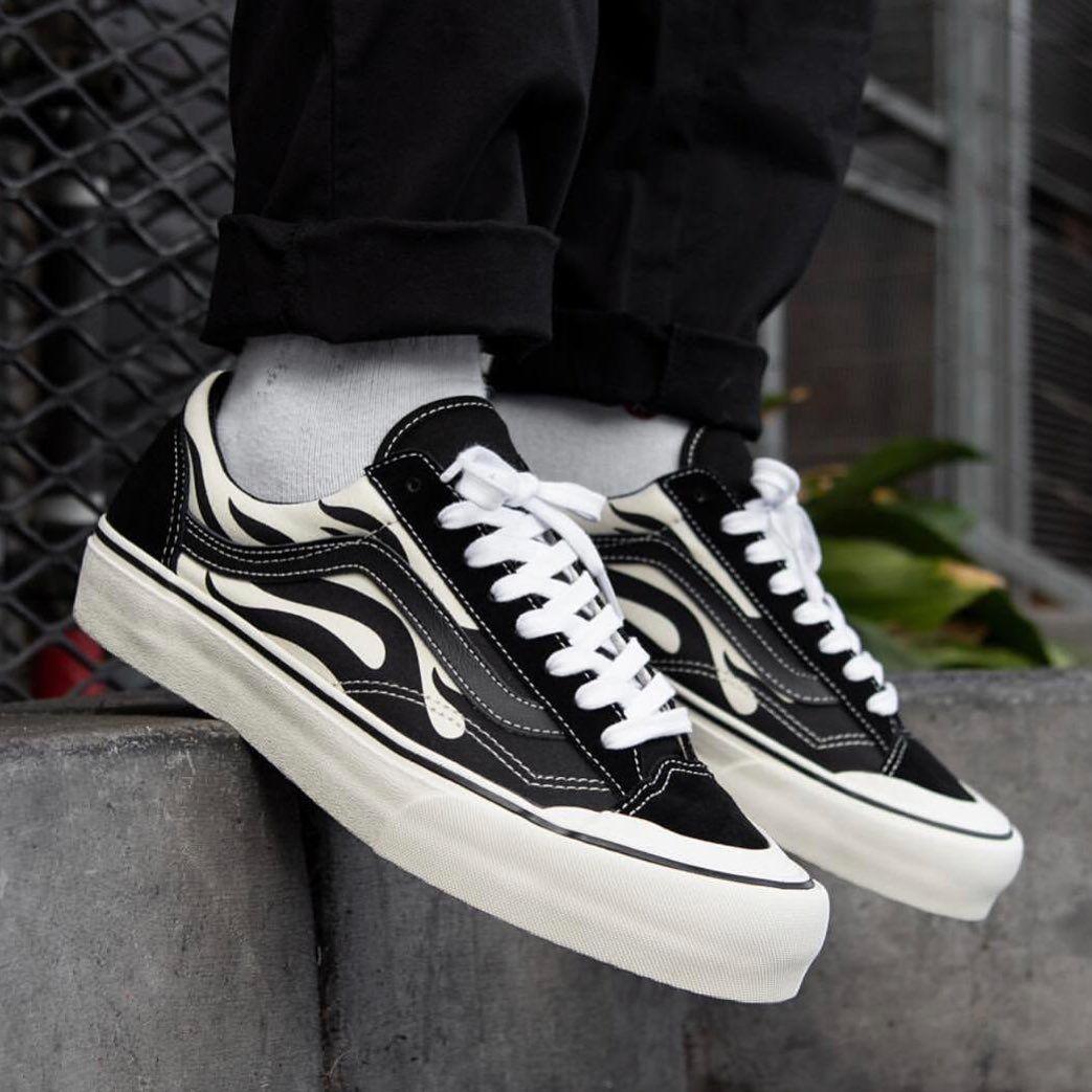 """Vans OldSkool Style 36 SF """"Flame Black"""