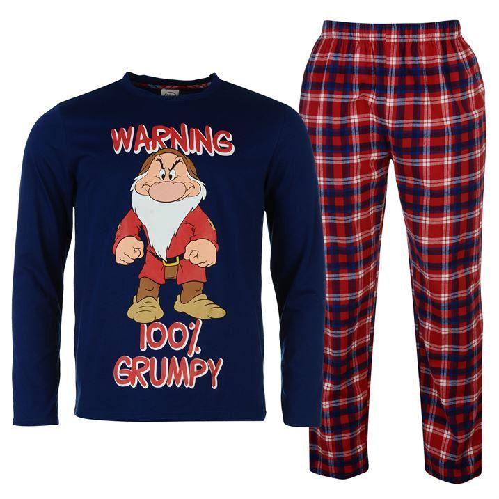 best shoes best value selected material Mens Licensed Disney Grumpy Pyjamas | boy in 2019 | Disney ...