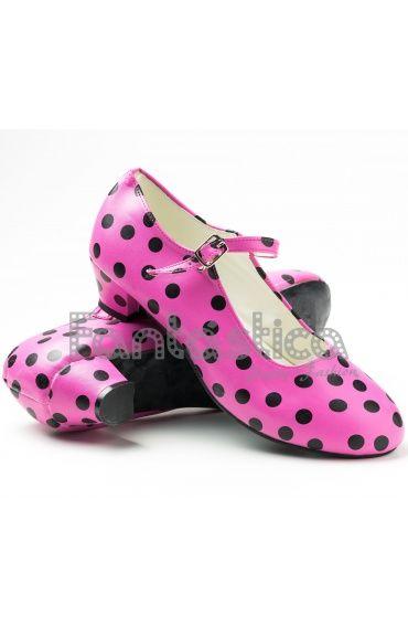 Zapatos negros Flamenco para mujer BRw6dny8j