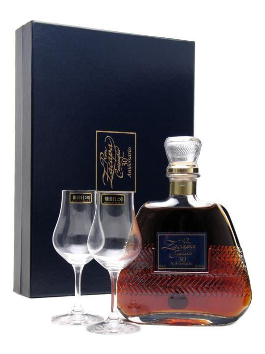 DRINK.CH Online Beverage Delivery Service Rum Zacapa 30 Aniversario Riedel Set mit 2 Gläser - Geschenkideen | Your Personal Beverage Butler