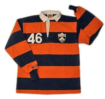 Princeton Rugby Preppy Look Rugby Shirt Mens Tops
