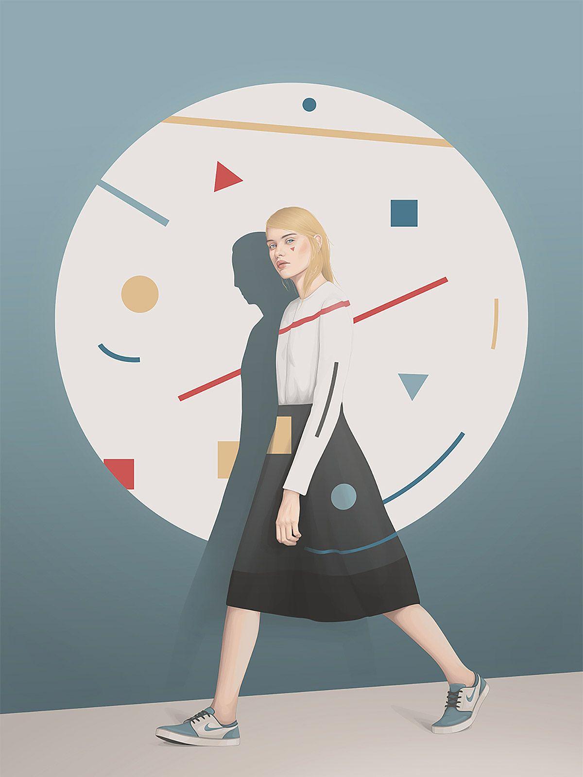 Female Portraits by Yuschav Arly | Inspiration Grid
