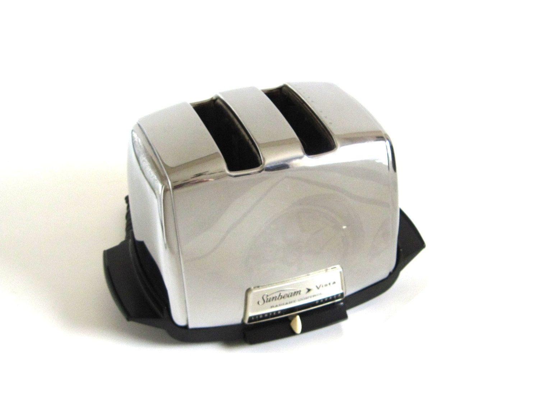 Sunbeam Radiant Shade Control Toaster AT-W Vintage Chrome Toaster ...