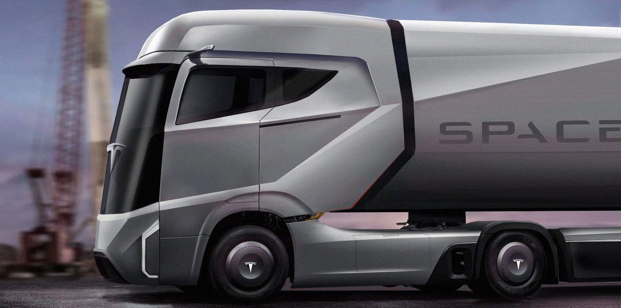 Tesla Semi All Electric Truck To Be Unveiled In September And Be