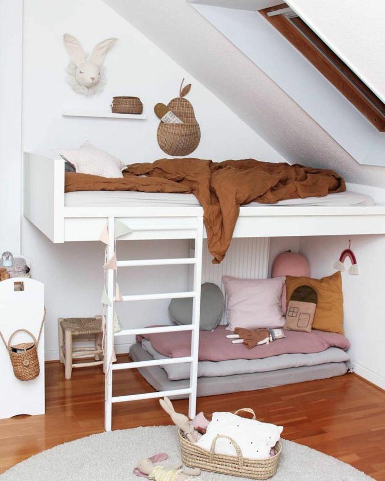 Tipps Fur Das Bett Unter Dachschrage Im Jugend Und Kinderzimmer