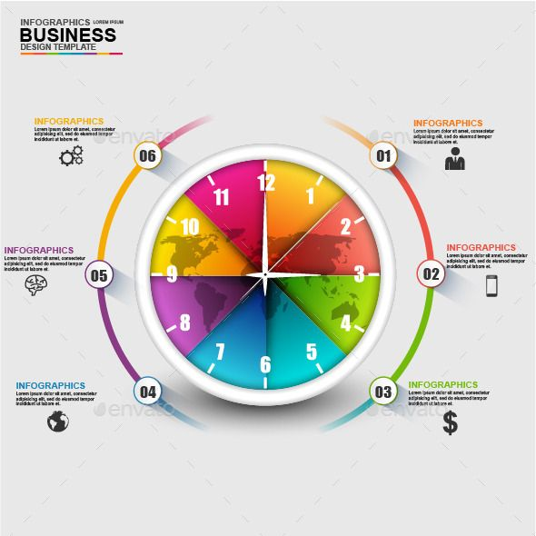 Abstract D Business Timeline Infographic  Timeline Infographic