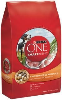 Purina One Smartblend Adult Dog Chicken/Rice 16.5lb