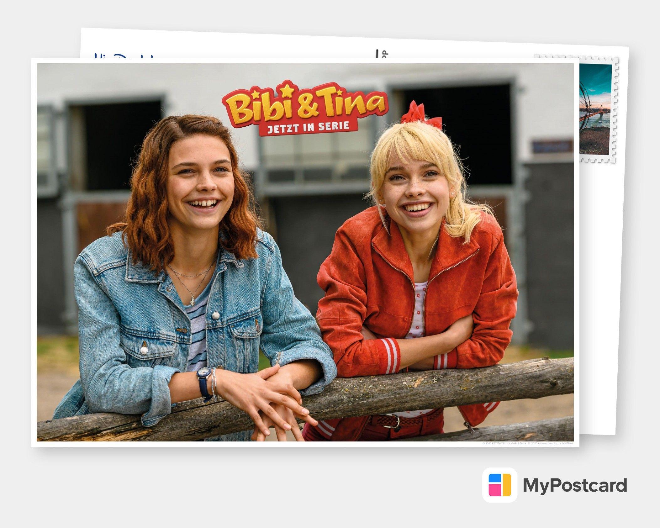 Bibi Tina Jetzt In Serie Film Musik Karten Echte Postkarten Online Versenden Bibi Und Tina Filme Film Marathon