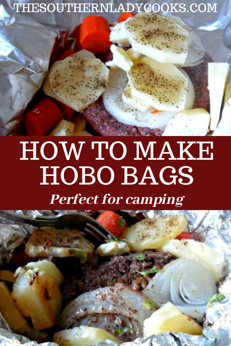 HOBO BAGS - The Southern Lady Cooks - Easy, How To, Recipe