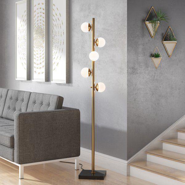 David 65 L Arbre De Lampe De Plancher Lampes Salon Eclairage