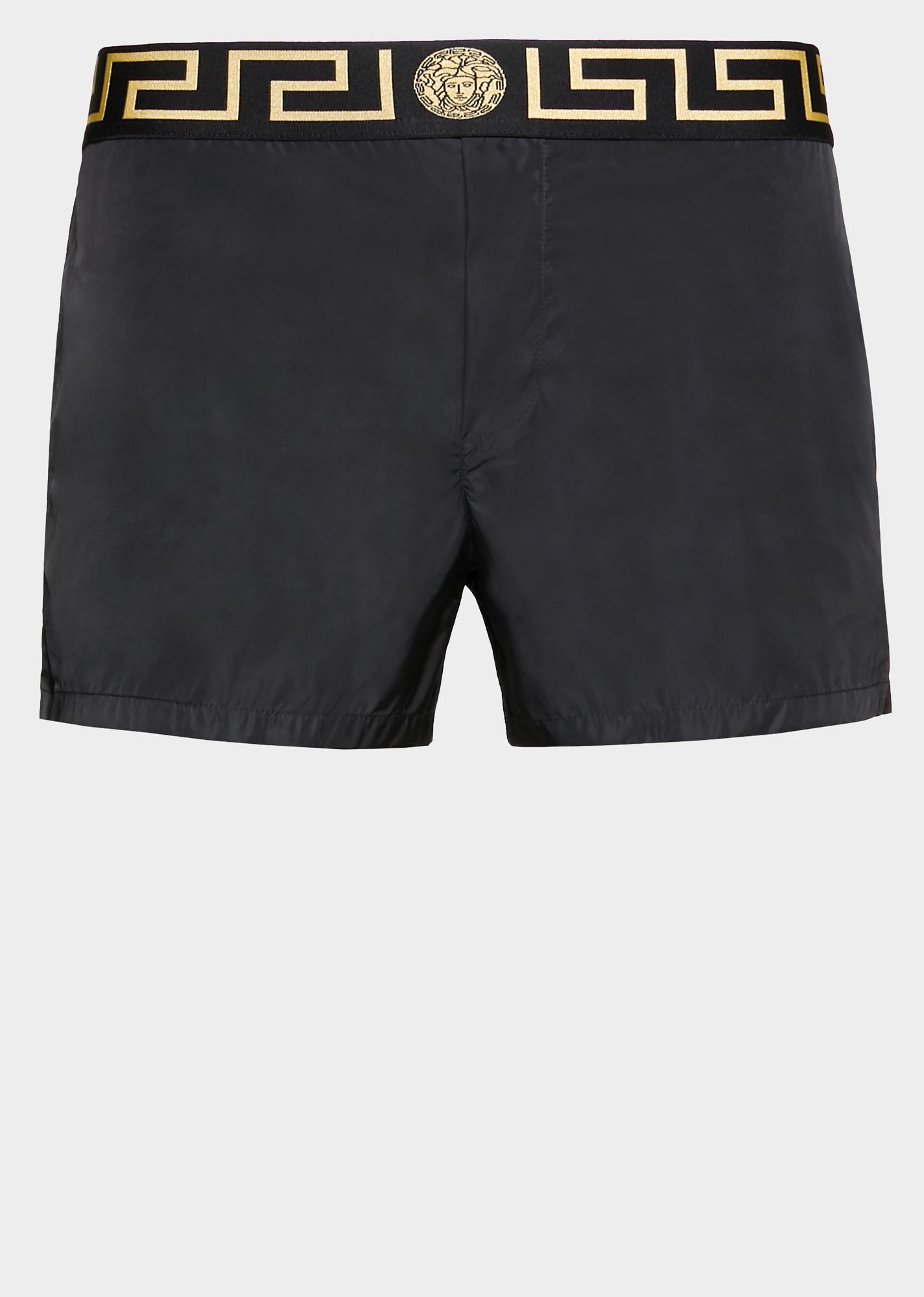 d3988a7c7e VERSACE Medusa and Greek Key swim shorts. #versace #cloth | Versace ...