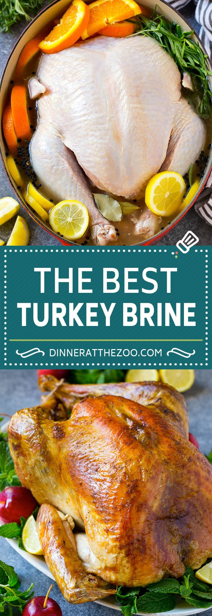 Turkey Brine Recipe | Brined Turkey | Roasted Turkey | Thanksgiving Turkey