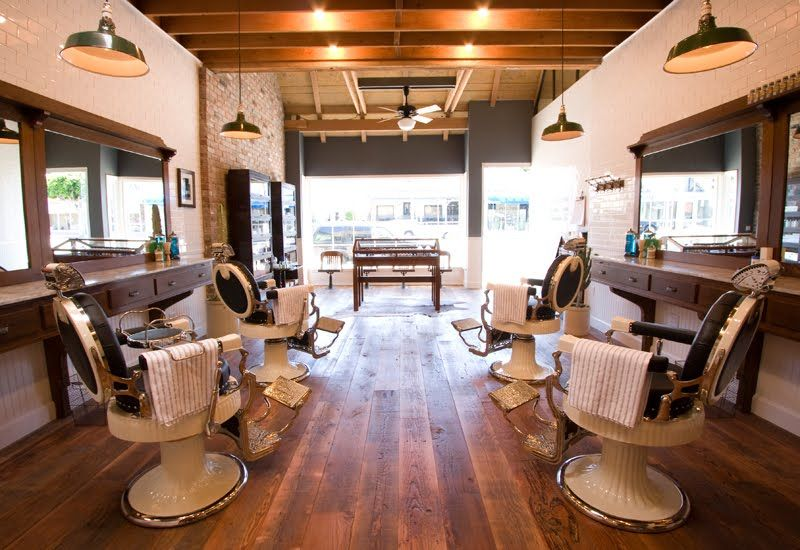 Top 80 Best Barber Shop Design Ideas Manly Interior Decor With