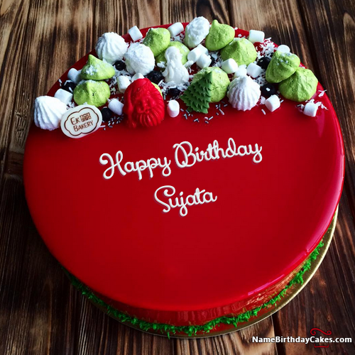 I have written sujata Name on Cakes and Wishes on this birthday wish and it is amazing friends, hope you will like it. Visit this website and write your own name.