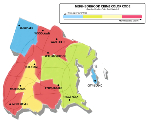 Is The Bronx safe? Safetourist safety map will answer your