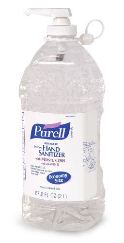 Purell 9625 04 Advanced Instant Hand Sanitizer 2 Liter Economy