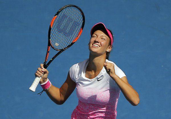 Tereza Mihalíková sa stala víťazkou juniorskej dvojhry na grandslamovom turnaji Australian Open 2015. Vo finále si poradila so štrnástou nasadenou Britkou Katie Swan (6:1, 6:4).