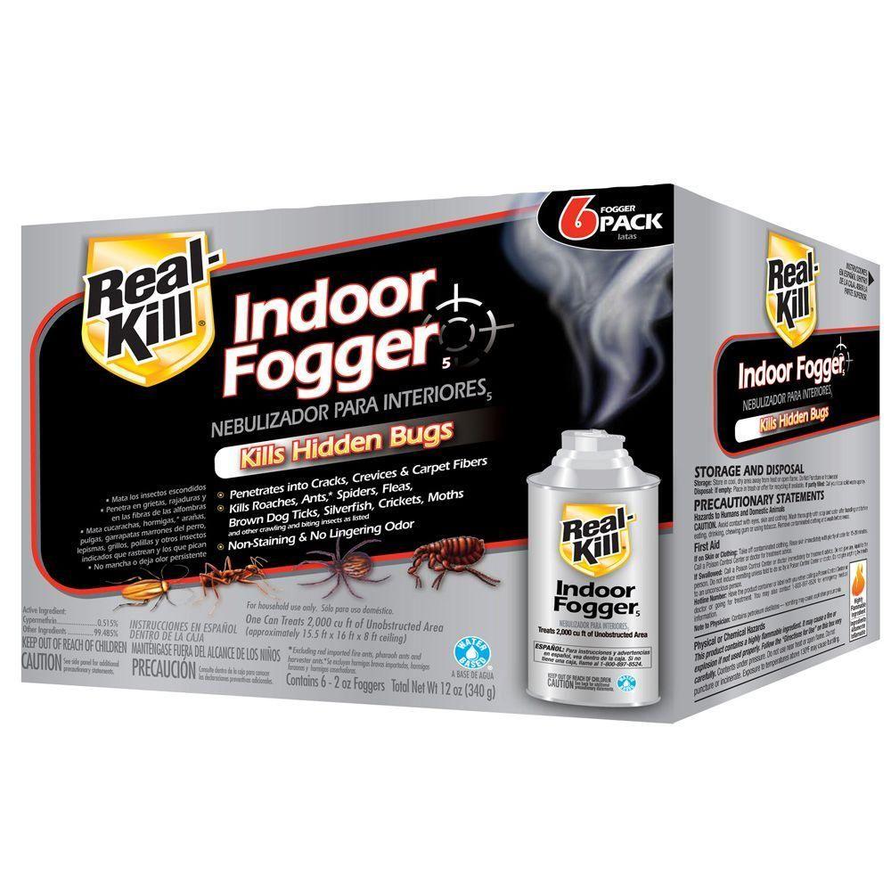 RealKill 2 oz. ReadytoUse Indoor Fogger (6Pack)HG