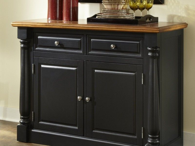 elegant black sideboard buffet sideboards buffet - Black Sideboard Buffet