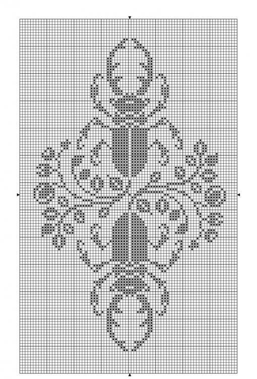Animals 10 | Free chart for cross-stitch, filet crochet | gancedo.eu ...