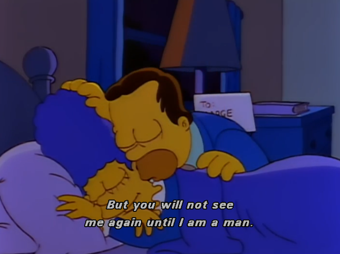 homer and marge | Tumblr