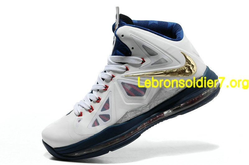 wholesale dealer 2c5c7 7485a Make Nike Lebron 10 White Navy Gold 541100 001 go from casual to dressy. I  go for its economy.